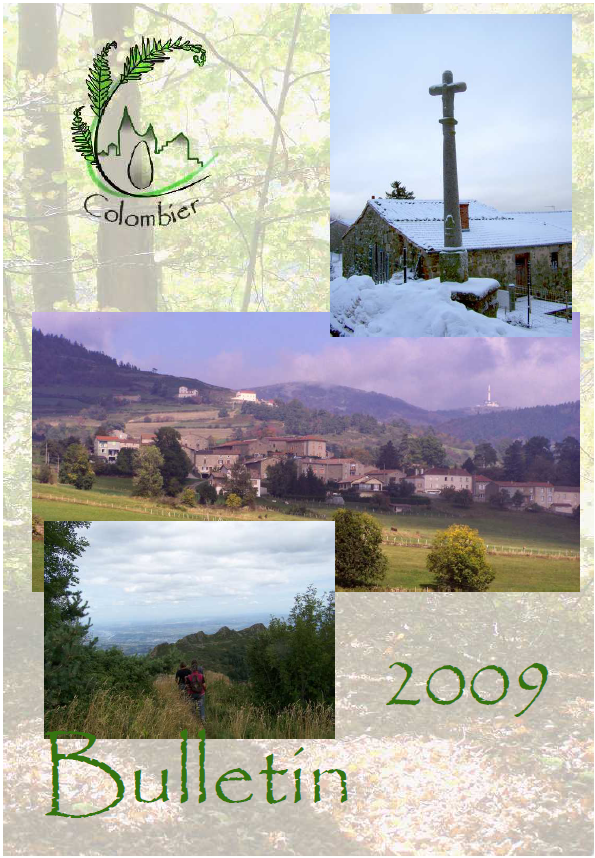 Bulletin 2009 à télécharger