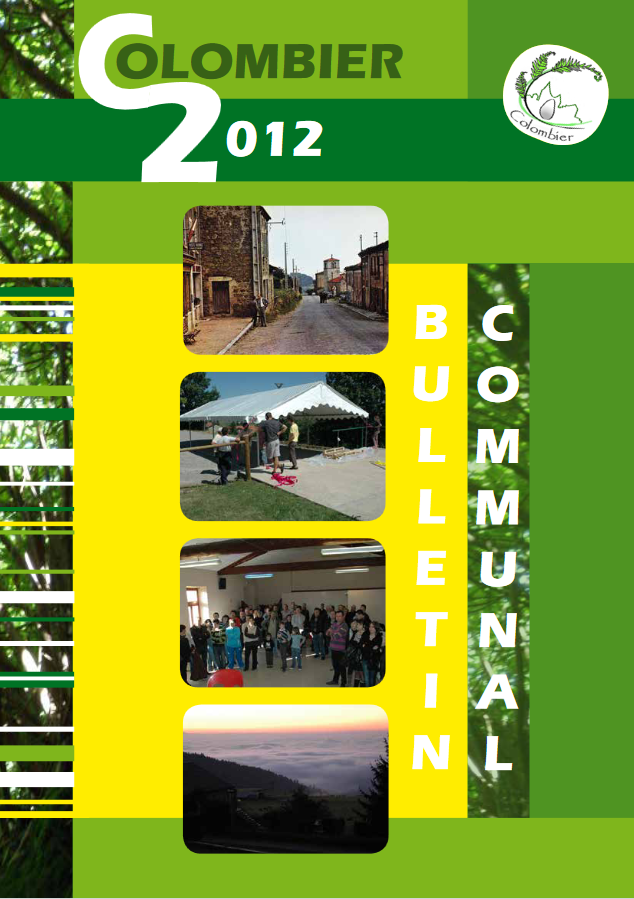 Bulletin 2012 à télécharger